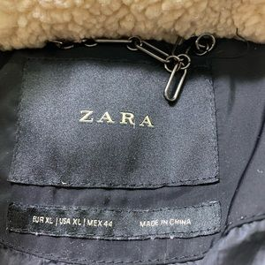 Zara Jackets & Coats - Women's Size XL Zara Bomber Puffer Jacket Coat